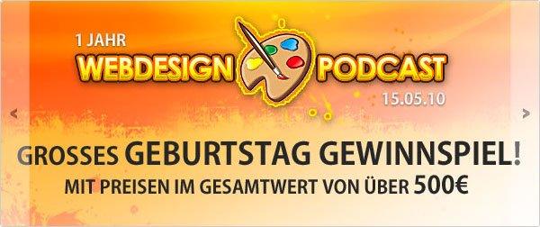 Webdesign-Podcast.de jQuery Slider / Slideshow