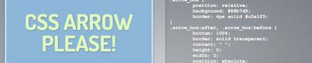 CSS3 Arrow Please