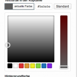 WordPress 3.5 Color-Picker