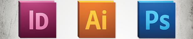 Gemeinsame Shortcuts Adobe Programme