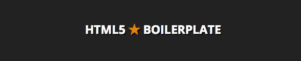 HTML5 WordPress Boilerplate