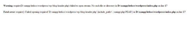 WordPress wiederherstellen