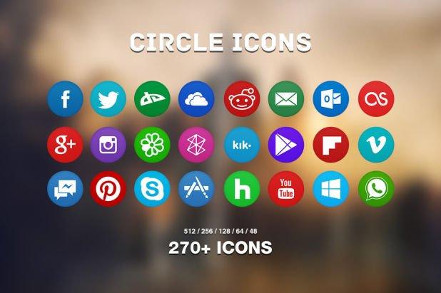 Circle Icons Pack