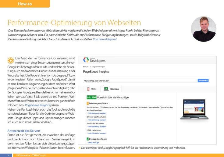 PSD-Tutorials.de - Commag Ausgabe 2/2015