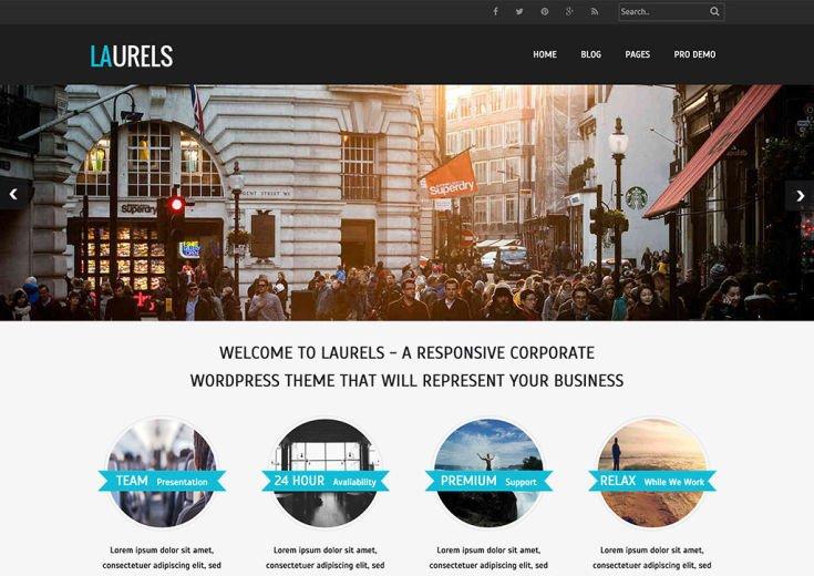 Laurels WordPress Theme