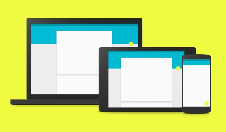 Material Design von Google auch für Web?