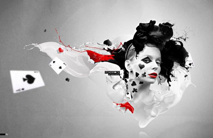 """Pokerface für """"arts"""" Magazin"""