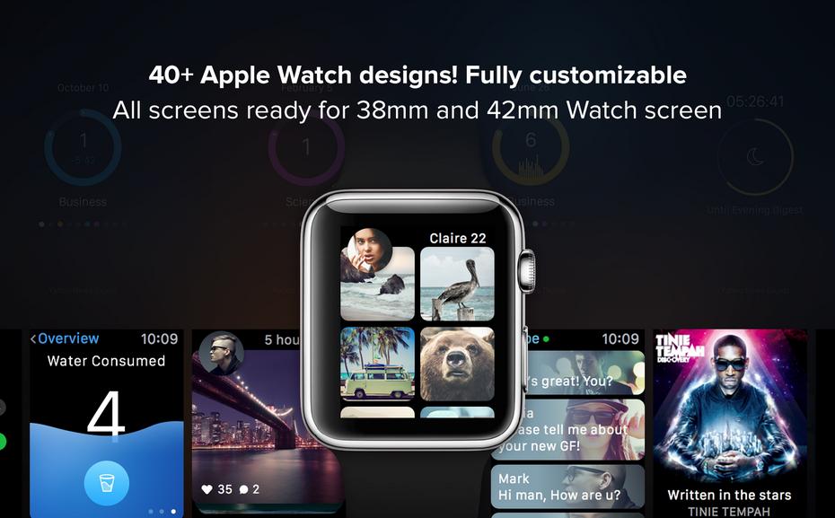 Apple Watch Design Vorlagen