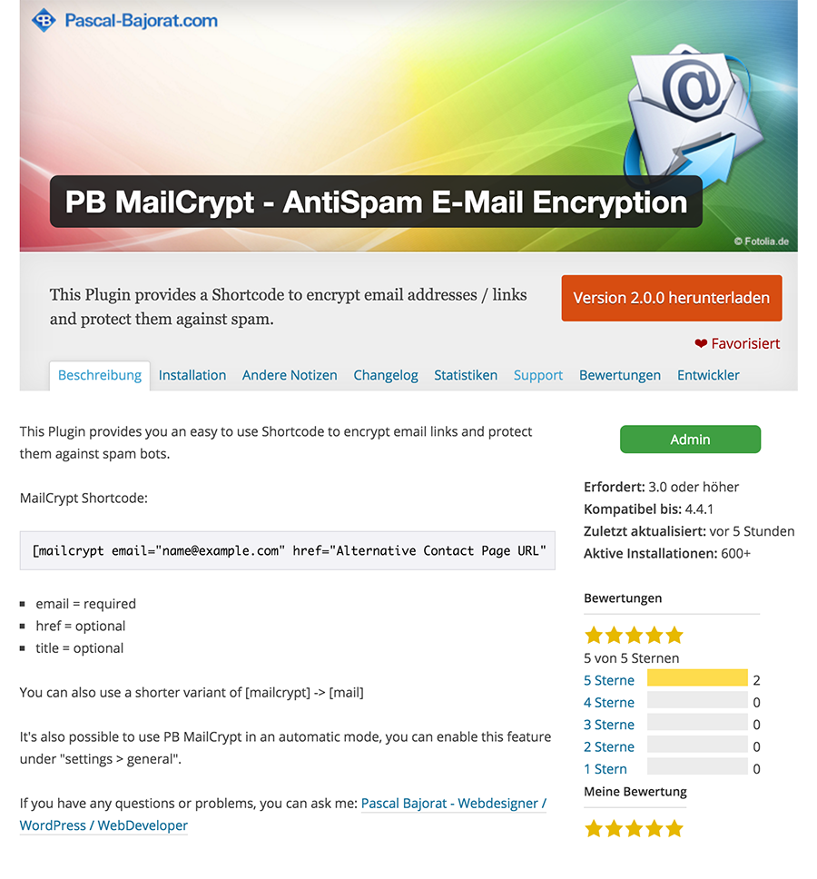 PB MailCrypt - AntiSpam E-Mail Encryption