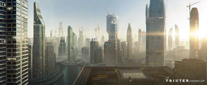 Quatar Commercial Concept Art